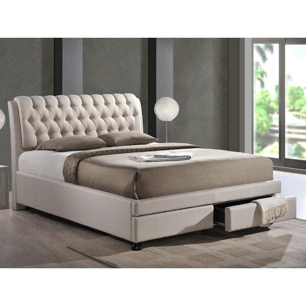 Arazia Upholstered Storage Platform Bed by House of Hampton
