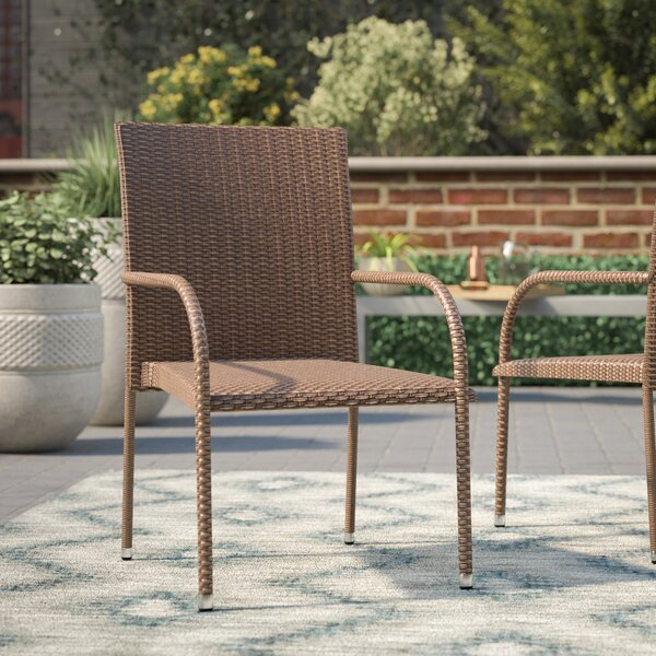 Lisette Patio Dining Chair (Set of 4) by Wade Logan