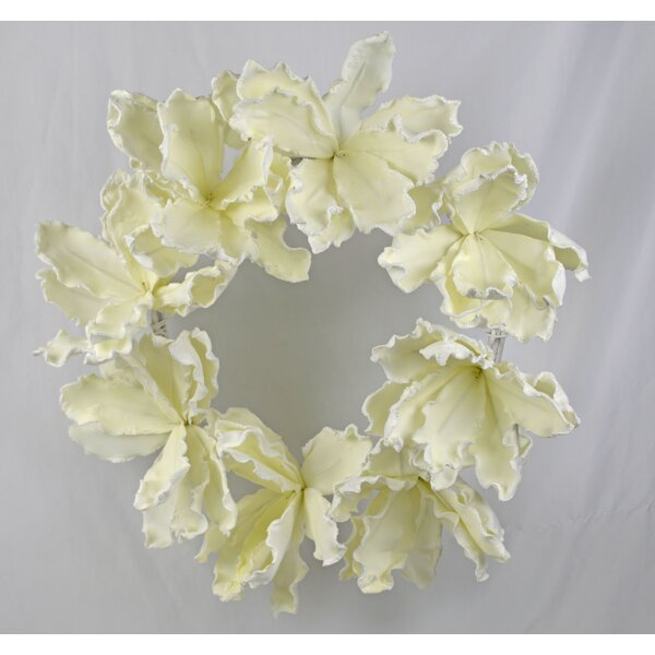Artificial Flower 26 Wreath by Bay Isle Home
