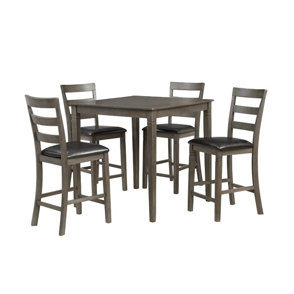 Emestine 5 Piece Dining Set by Charlton Home