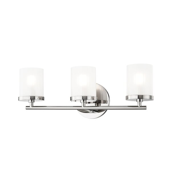 Woodlake 3-Light Vanity Light by Orren Ellis