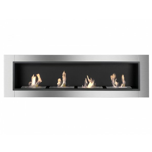 Accalia Wall Mounted Ethanol Fireplace by Ignis Products