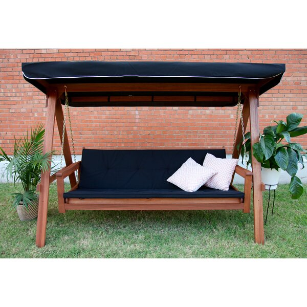 Peggy Daybed Porch Swing with Stand by Darby Home Co