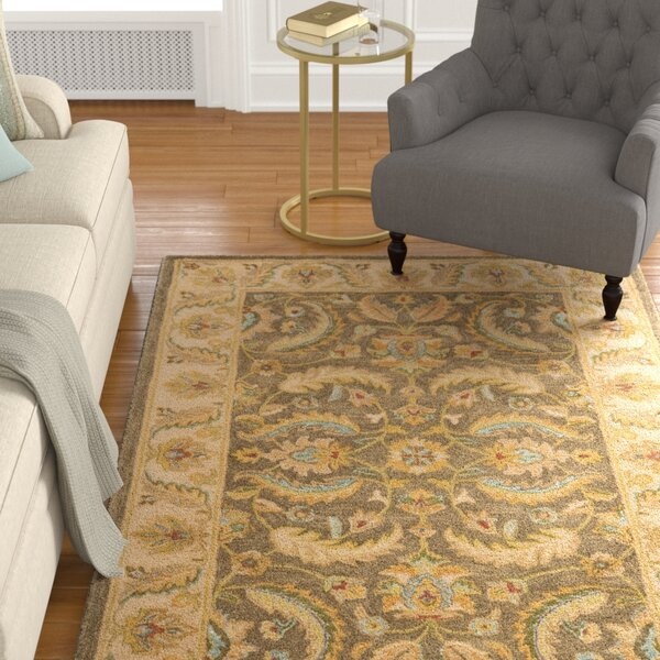 Cranmore Green / Beige Oriental Rug by Charlton Home