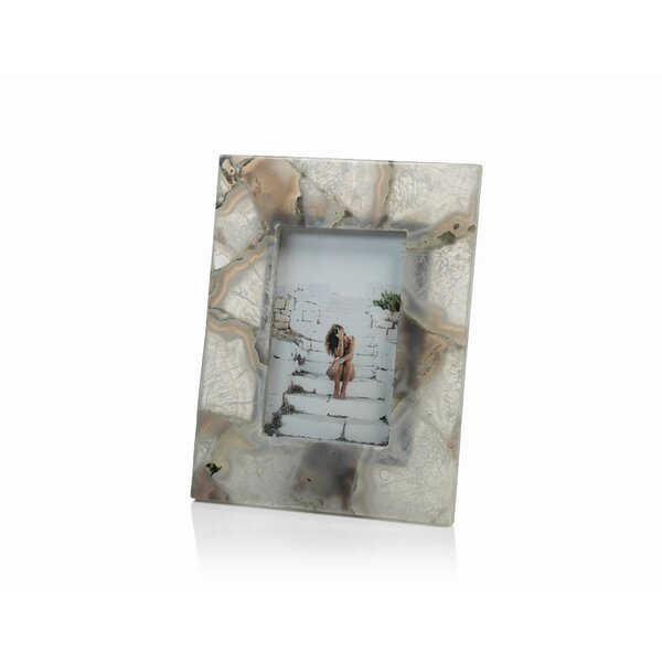 Agate Picture Frame by Rosecliff Heights