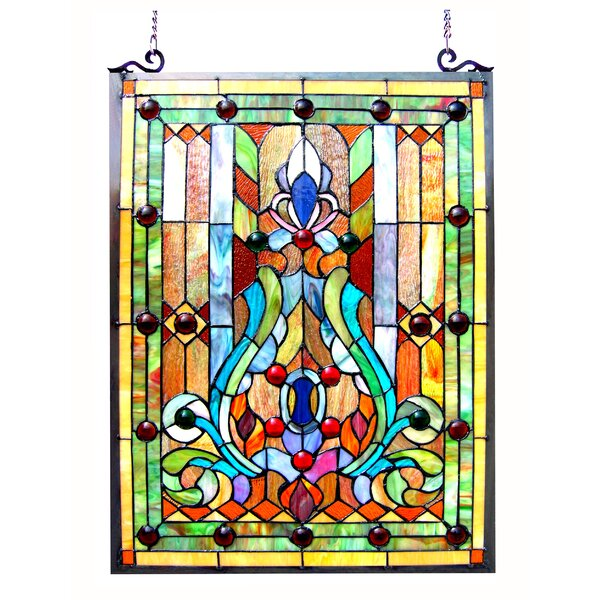 Beley Victorian Window Panel by Astoria Grand