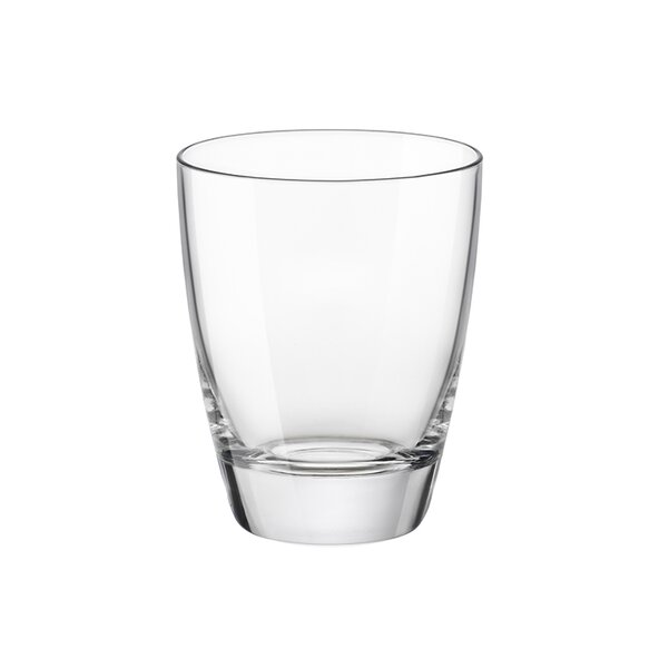 Nadia 11.75 Oz. Double Old Fashioned Glass (Set of 4) by Bormioli Rocco