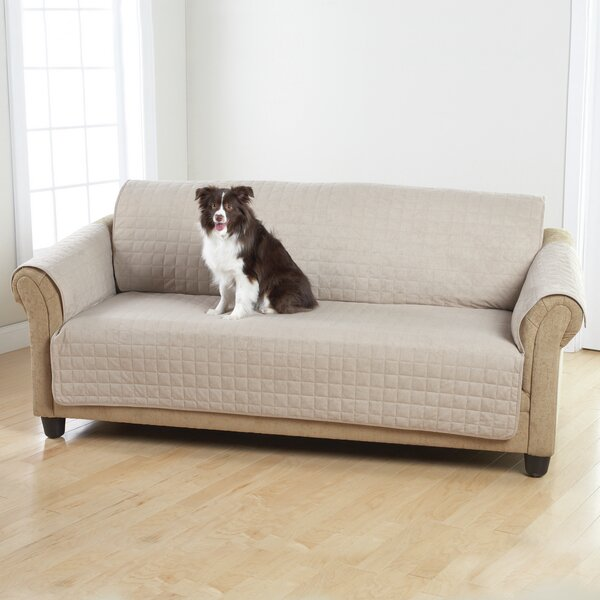 Box Cushion Sofa Slipcover by Sure Fit