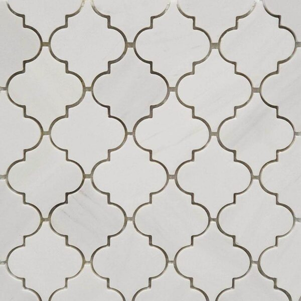 Marble Arabesque Mosaic Wall & Floor Tile