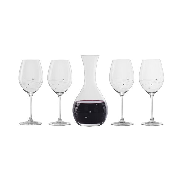 Hertzel Modern 5 Piece Beverage Serving Set by Latitude Run
