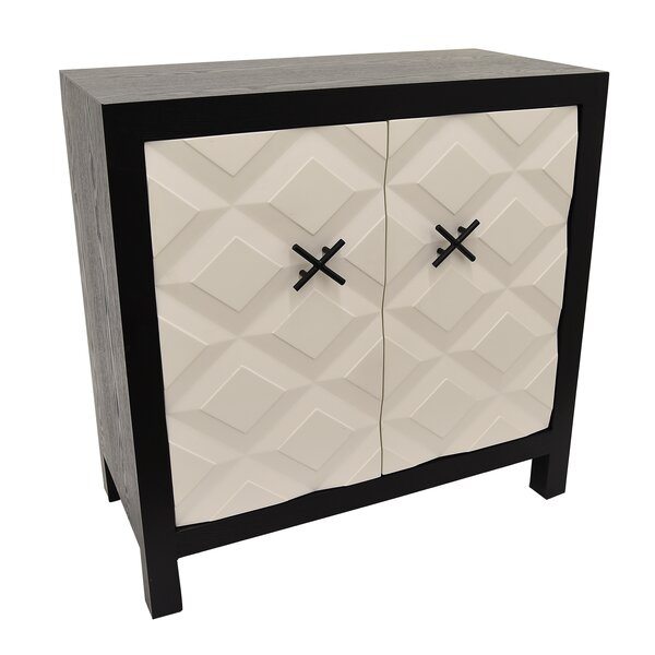 Cormier Wood 2 Door Accent Cabinet by Orren Ellis
