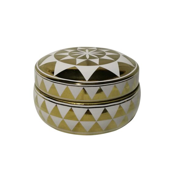 Barwood Covered Dotted Jar by Foundry Select
