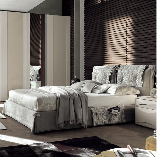 Amami Upholstered Standard Bed by YumanMod