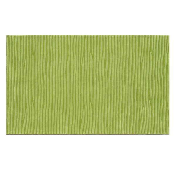 Hand-Tufted Green Area Rug by The Conestoga Trading Co.
