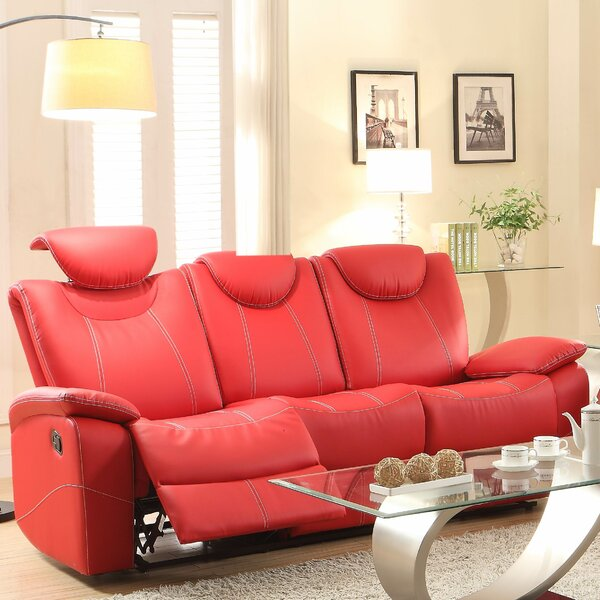 Modern Beautiful Erik Double Reclining Sofa Shopping Special: