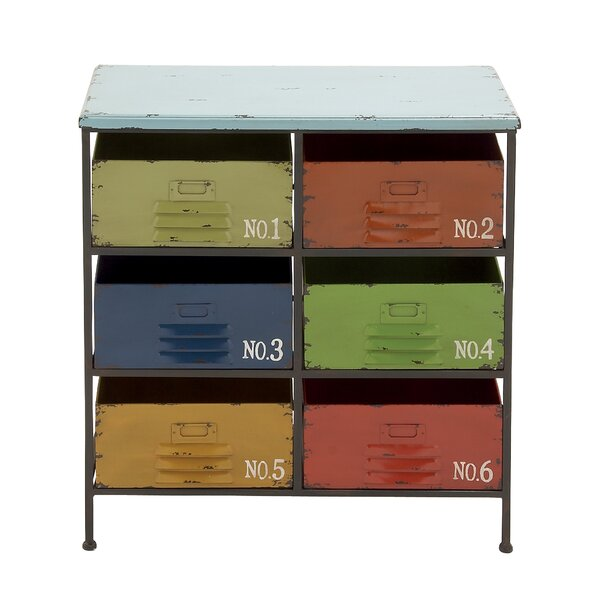 6 Drawer Accent Chest by Cole & Grey