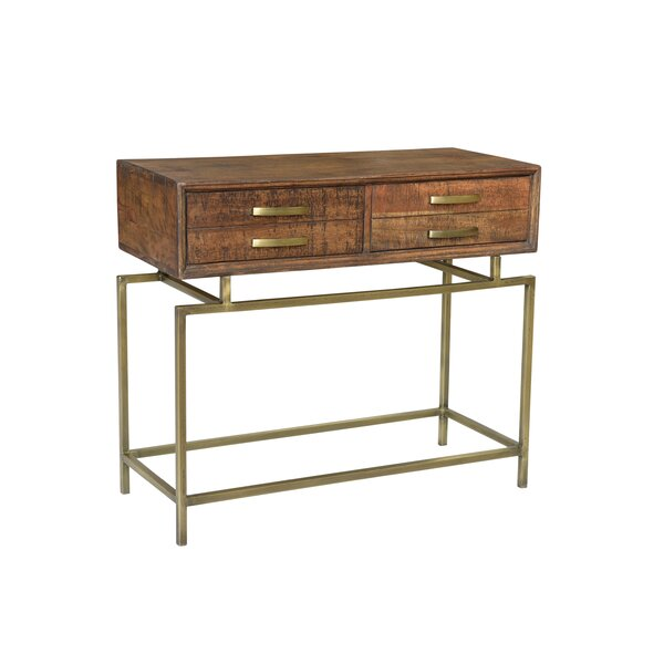 Buster Solid Wood Console Table By Foundry Select