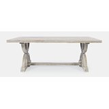 Macarthur Solid Wood Trestle Coffee Table by One Allium Way®