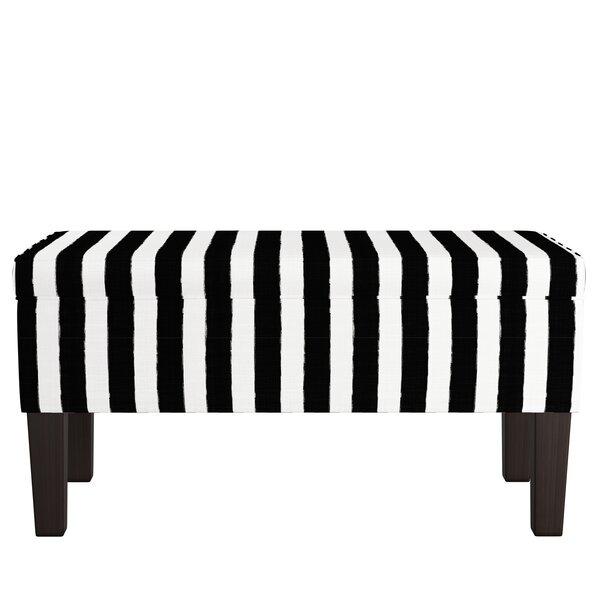 Carmel Upholstered Storage Bench by Mercer41 Mercer41
