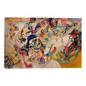 'Composition VII' by Wassily Kandinsky Graphic Art Print by East Urban Home