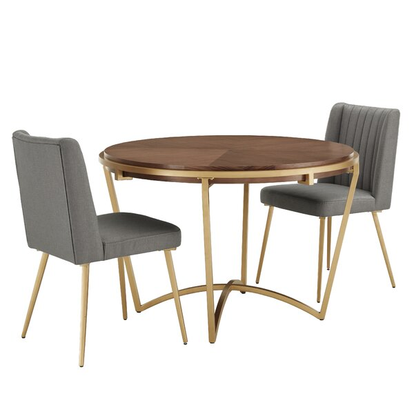 Enzo 3 Piece Dining Set by Mercer41 Mercer41