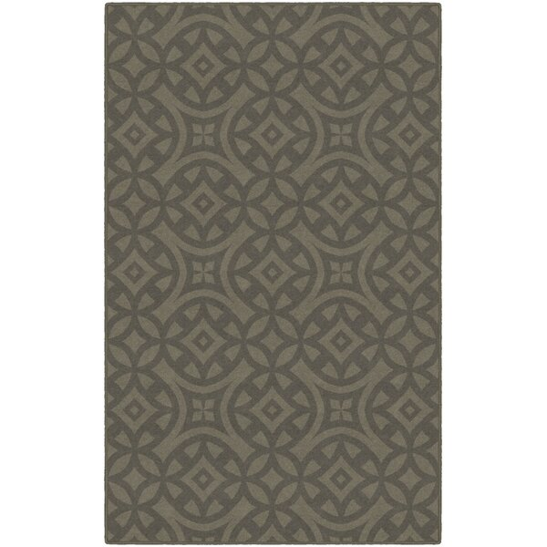 Metz Trellis Brown Area Rug by World Menagerie