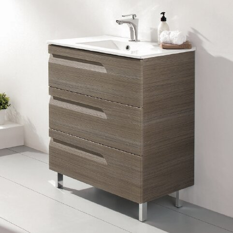 @ Zebulon 24 Single Bathroom Vanity Set by Orren Ellis| #$1,595.00!