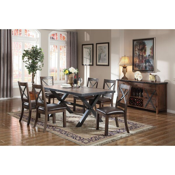 Mccarley 7 Pieces Dining Set by Millwood Pines Millwood Pines