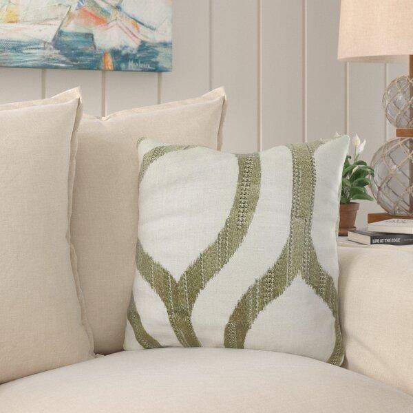 Kopp Light Grass Luxury Pillow by Bayou Breeze