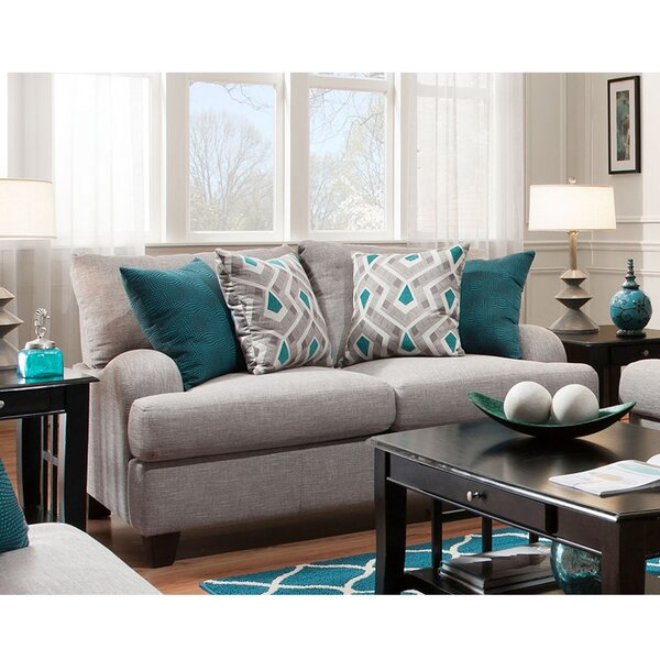 Best Brand 2018 Rosalie Loveseat Get The Deal! 40% Off