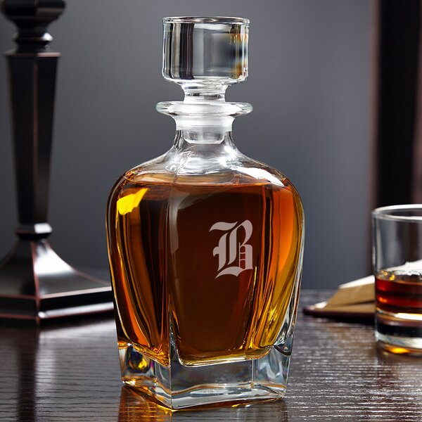 Draper Personalized 24 oz. Whiskey Decanter by Home Wet Bar