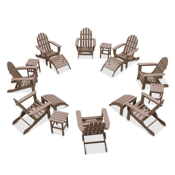 Paterson 16 Piece Multiple Chairs Seating Group by Highland Dunes