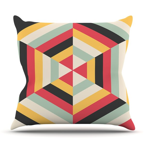 On Call by Danny Ivan Outdoor Throw Pillow by East Urban Home