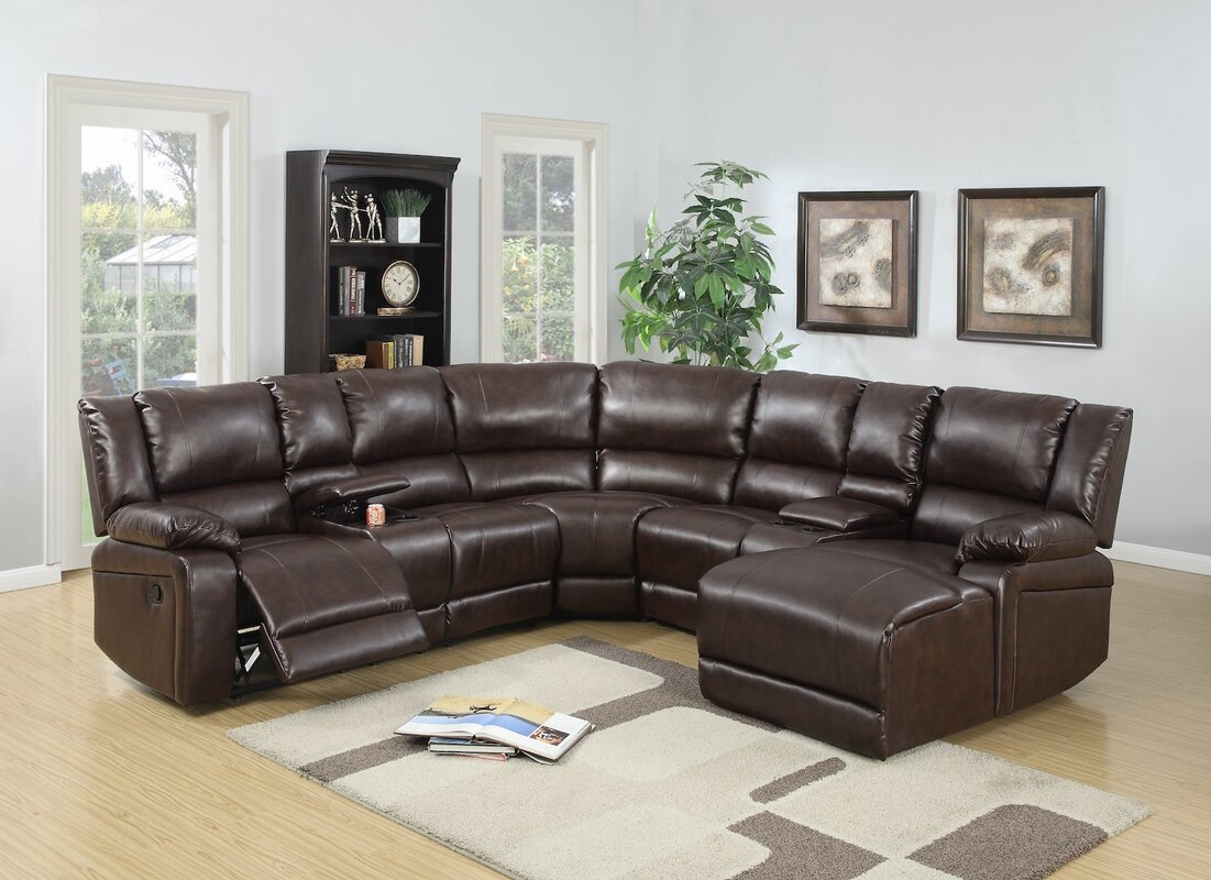 Superior Reclining Sectionals Youu0027ll Love | Wayfair