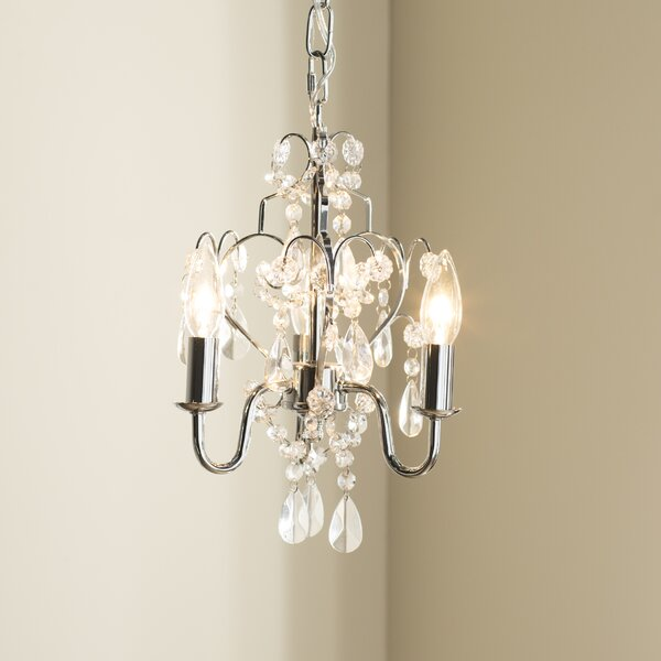 Dagnall 3-Light Candle Style Chandelier by House of Hampton