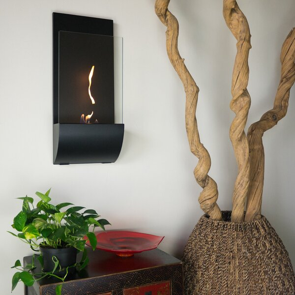 Torcia Wall Mounted Bio-Ethanol Fireplace by Nu-Flame