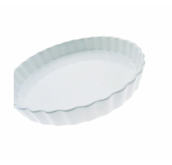White Basics Quiche Dish (Set of 2) by Maxwell & Williams