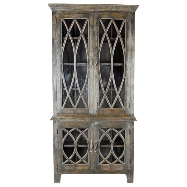 Sierra Glass Tall 4 Door Accent Cabinet by One Allium Way One Allium Way