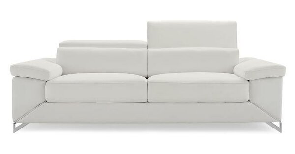 Asa Leather Loveseat by Wade Logan