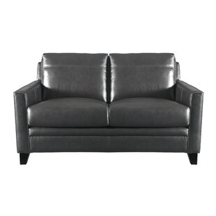 Bendigo Leather Loveseat