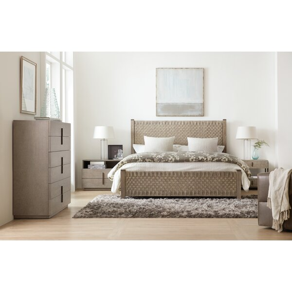 Miramar Carmel Lucio Woven Standard Configurable Bedroom Set by Hooker Furniture