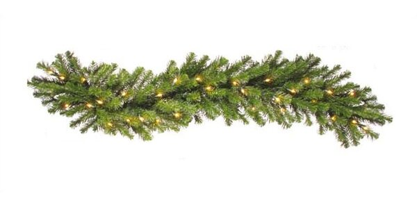 Douglas Fir Prelit Garland by The Holiday Aisle