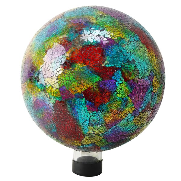 Mosaic Gazing Ball by Alpine