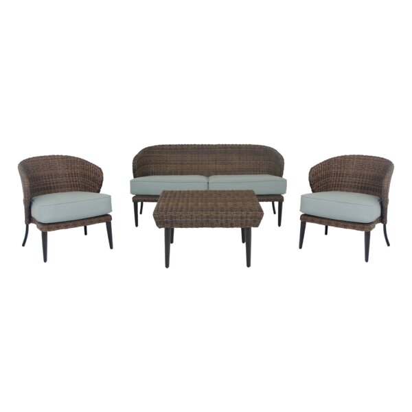 Tacoma Seating Group with Sunbrella Cushions by Longshore Tides