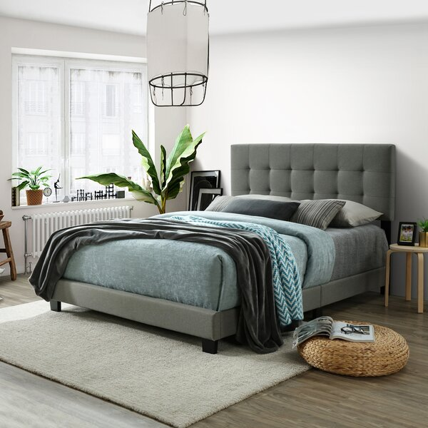 Roi Queen Upholstered Standard Bed by Winston Porter