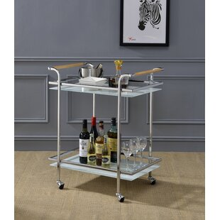 Avawatz Serving Bar Cart