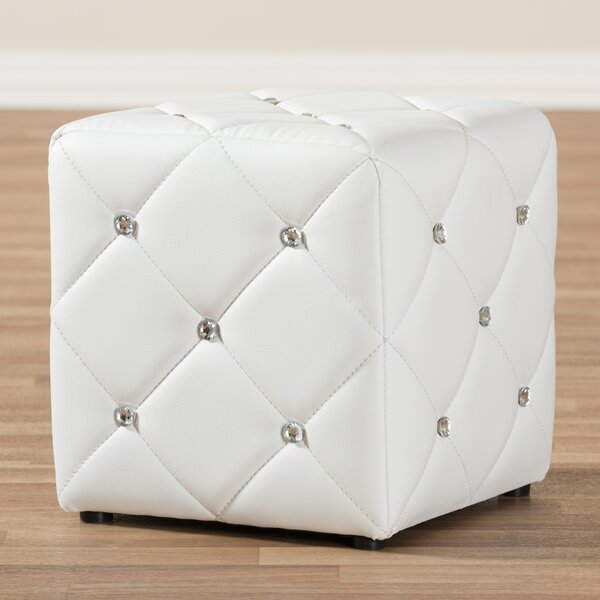 Michels Modern and Contemporary Cube Ottoman by House of Hampton
