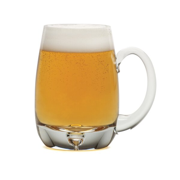 Brewmasters 16 oz. Crystal Pint Glass (Set of 4) by Mikasa