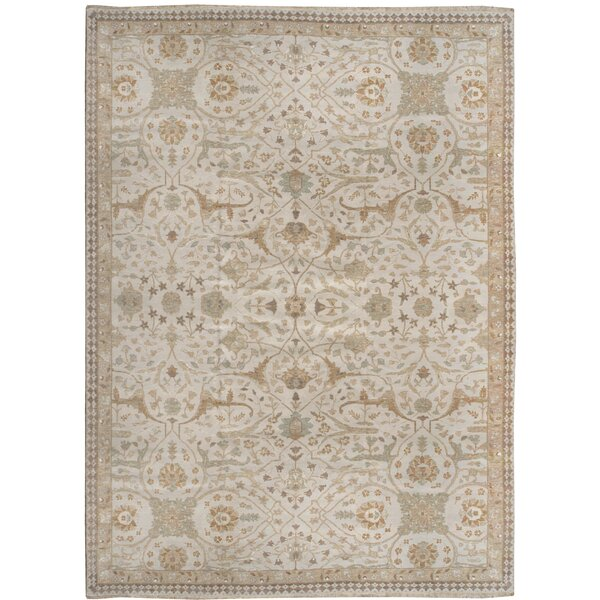 One-of-a-Kind Hand-Knotted Brown 10' x 13'4 Area Rug