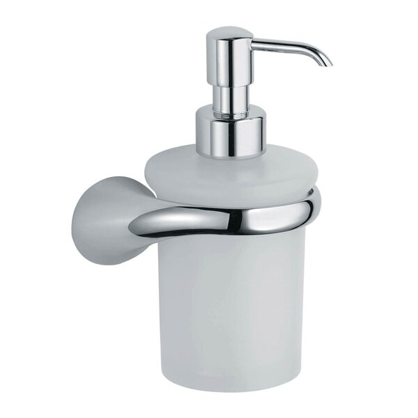 Lulay Vetrilite Wall Mount Soap Dispenser by Artos